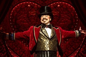 Danny Burstein in 'Moulin Rouge! The Musical' (Photo by Matthew Murphy)