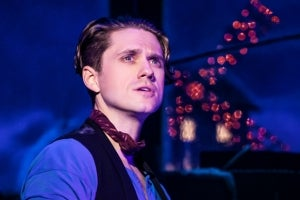 Aaron Tveit in Moulin Rouge! The Musical