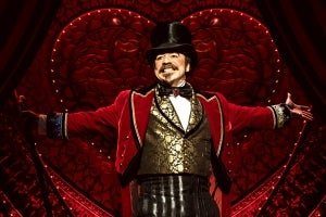 Danny Burstein in Moulin Rouge! The Musical