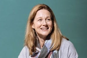 Laura Linney in the London production of My Name is Lucy Barton