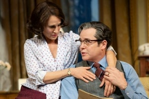 Sarah Jessica Parker & Matthew Broderick in the Boston production of Plaza Suite
