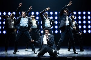 Photo credit: Ain't Too Proud - The Life and Times of the Temptations cast (Photo by Matthew Murphy)