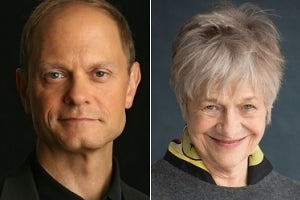 David Hyde Pierce & Estelle Parsons