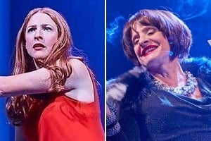 Rosalie Craig & Patti LuPone in Company