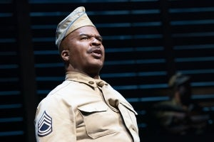 David Alan Grier in A Soldier's Play