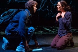 Photo credit: Will Hochman and Mary-Louise Parker (Photo by Jeremy Daniel)