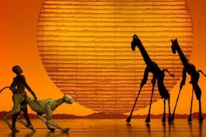 Photo credit: The Lion King (Photo by Joan Marcus)