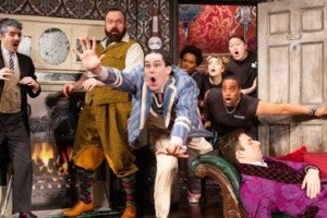 Photo credit: The Play That Goes Wrong (Photo by Jeremy Daniel)