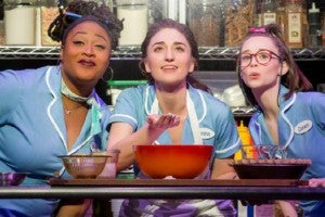 Photo credit: Cast of Waitress (Photo by Joan Marcus)