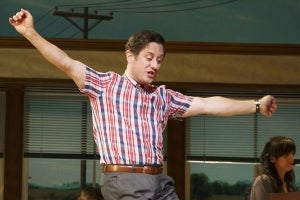 Christopher Fitzgerald in Waitress