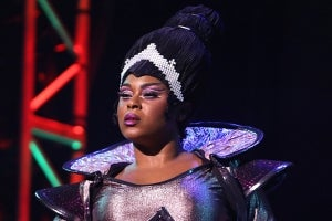 Krystle Chance in We Will Rock You