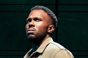 Joshua Henry in The Wrong Man