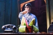 Jonathan Groff in Little Shop of Horrors