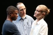 Pete Simpson, TL Thompson & Emily C. Davis in Is This A Room