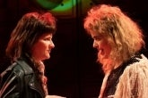 Amy Staats and Megan Hill in Eddie and Dave