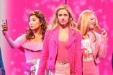 Ashley Park, Taylor Louderman & Kate Rockwell in Mean Girls