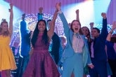 Ariana DeBose and Jo Ellen Pellman in The Prom on Netflix (Photo by Melissa Gordon/Netflix)