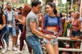 Photo credit: Cast of In The Heights (Photo by Warner Bros. Pictures/Macall Polay)