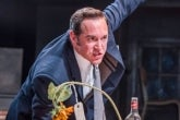 Bertie Carvel in the West End production of Ink