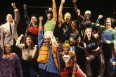 Photo credit: Original Broadway Cast of Rent (Photo by Joan Marcus)