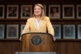 Heidi Schreck in What the Constitution Means to Me on Broadway