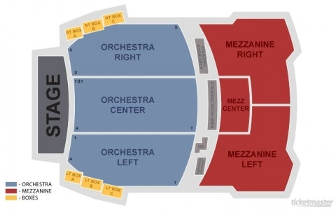 Eugene O'Neill Theatre Seating Plan