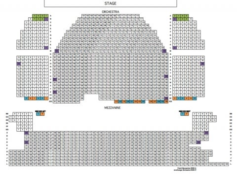 Minskoff Theatre Seating Plan