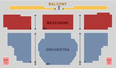 Walter Kerr Theatre Seating Plan